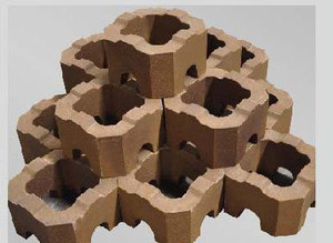 Tubular magnesia brick