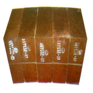 Magnesium-iron spinel brick