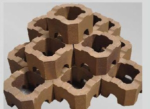 магнезитовый цилиндрический кирпич